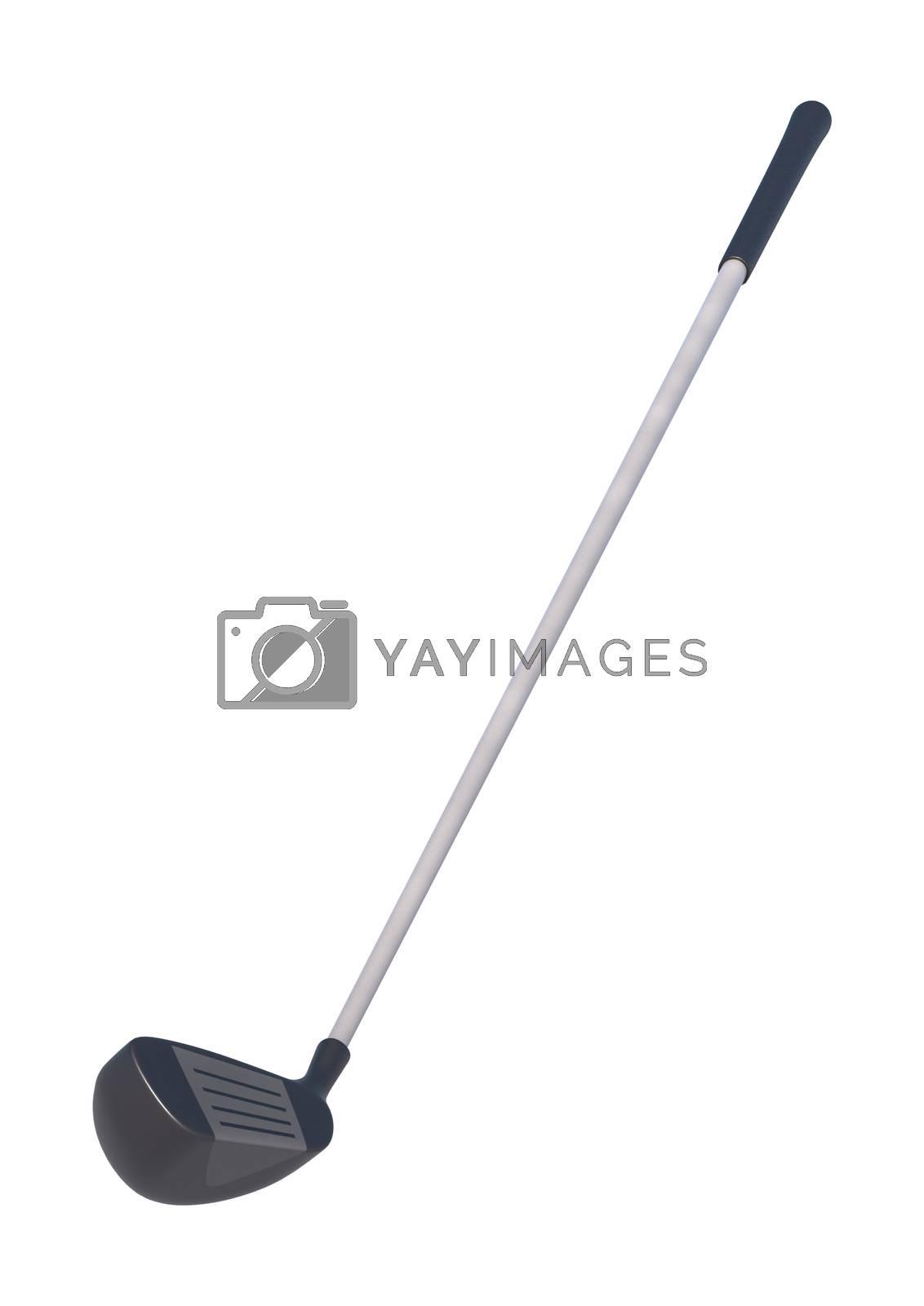 Royalty free image of Golf Club by Vac