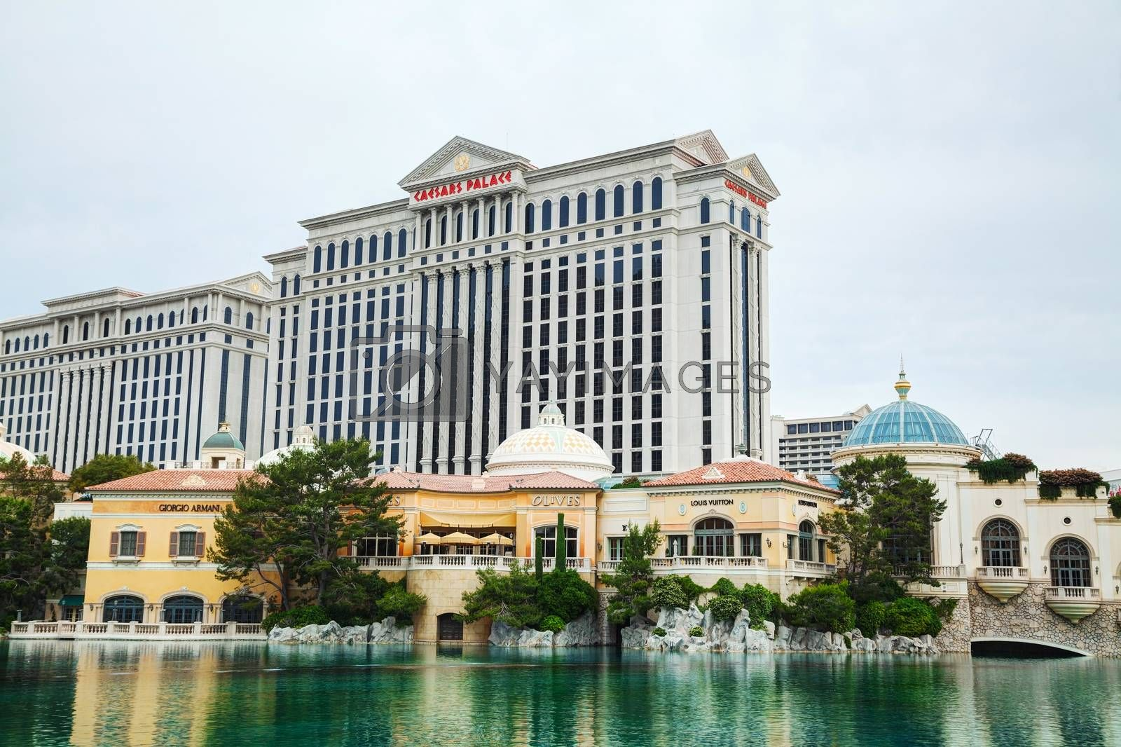 Royalty free image of Las Vegas boulevard in the morning by AndreyKr