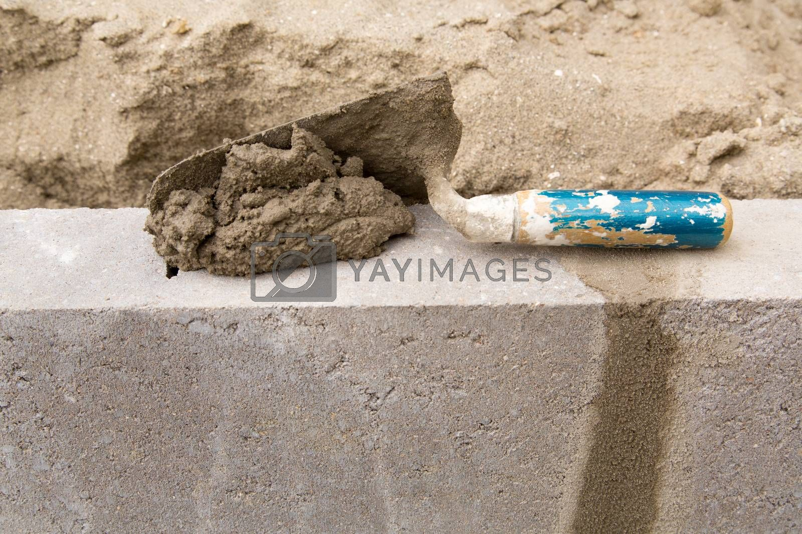 Royalty free image of Wall Construction - 03 by Kartouchken