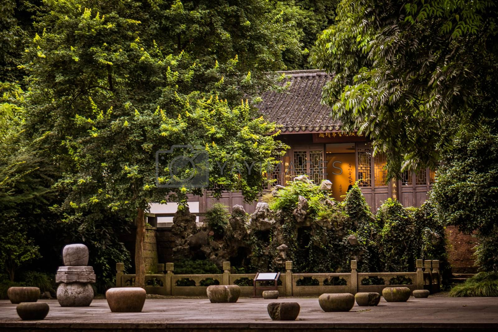 Royalty free image of Hangzhou city by bamboome