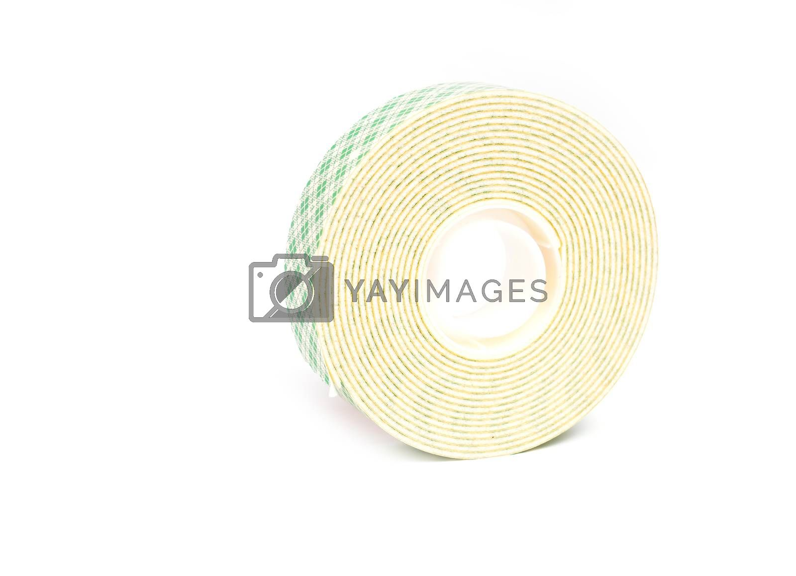 Royalty free image of double sided tape by anankkml