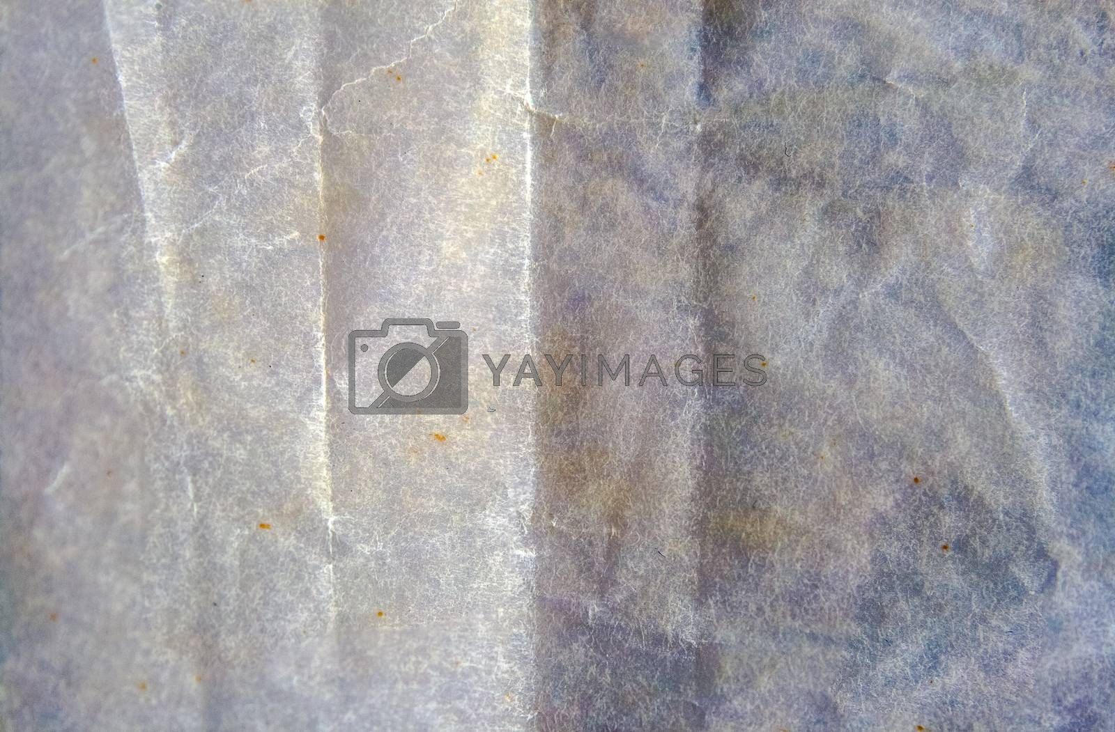 wrinkled paper background with many details