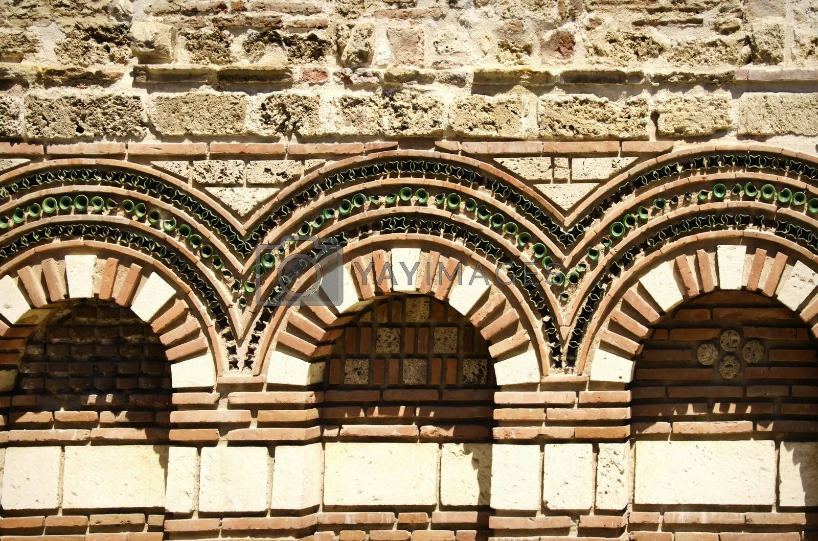 Old Stone Exterior Decoration by razvodovska