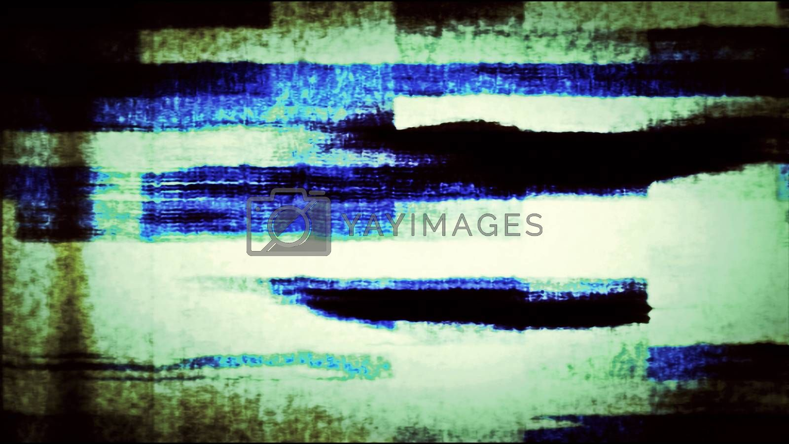 Future Tech 0275 - Futuristic technology abstract screen with digital noise.