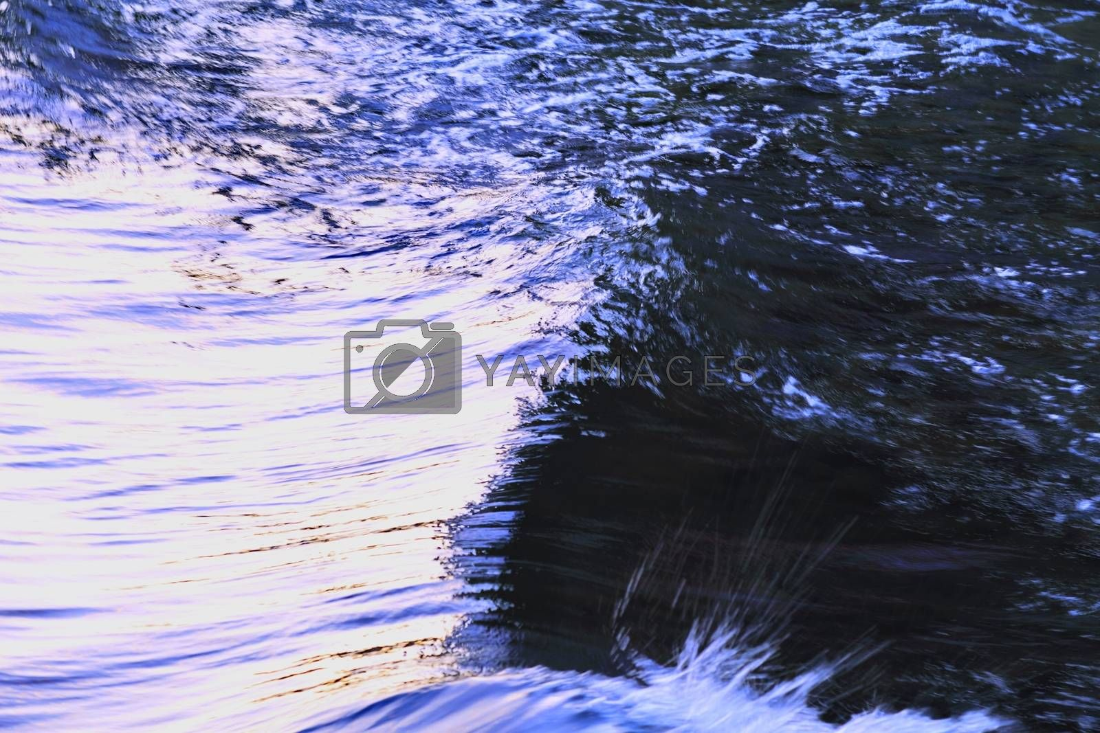 Royalty free image of surface water by victorych