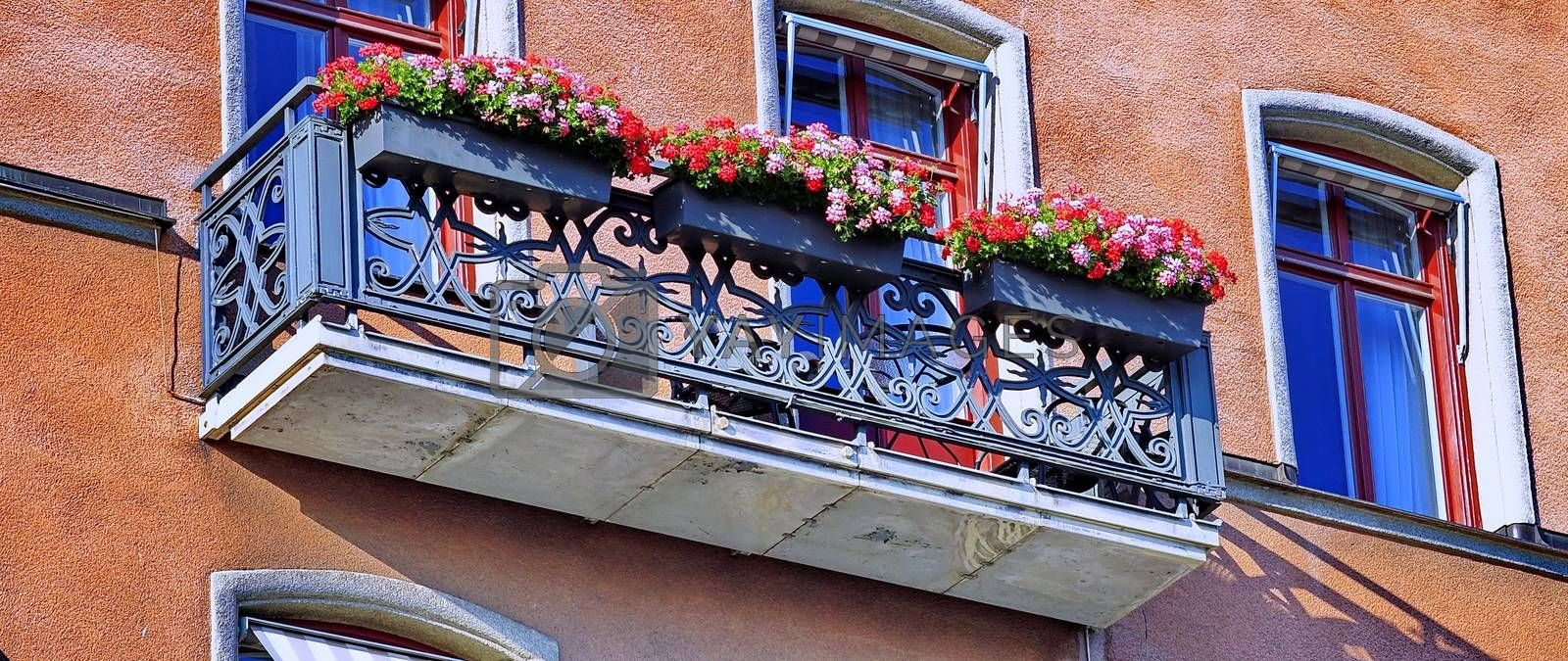 Royalty free image of beautiful balcony by victorych