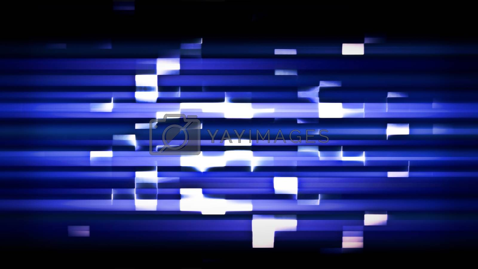 Future Tech 0281 - Futuristic technology abstract screen with digital noise and light effects.