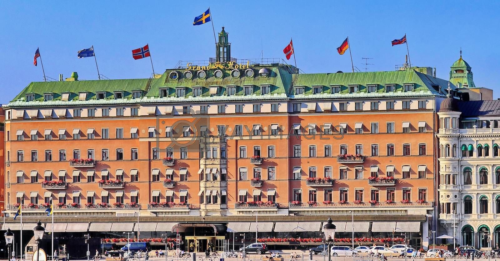 Royalty free image of Grand Hotel Stockholm by victorych