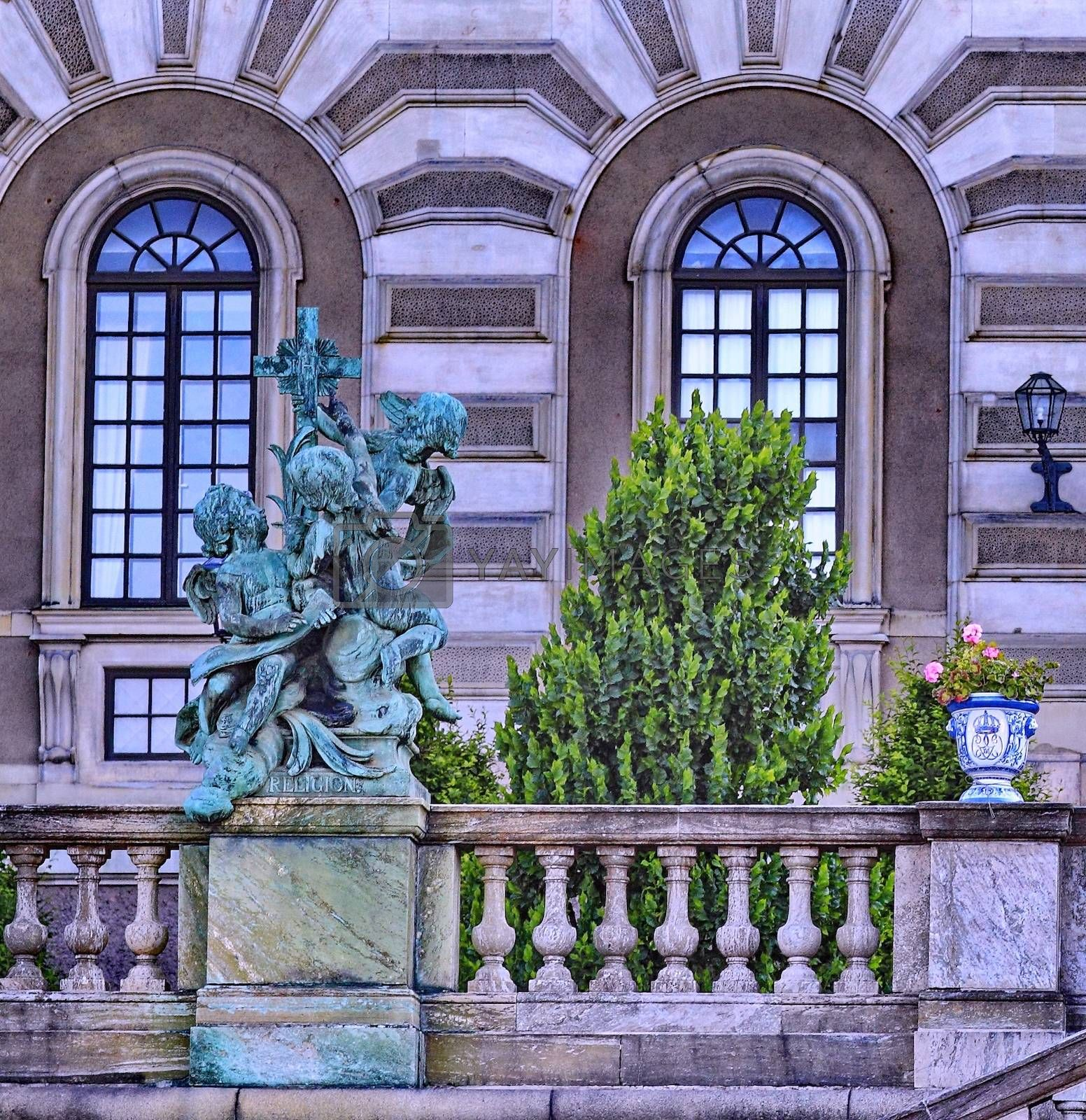 Royalty free image of The Royal Palace in Stockholm by victorych