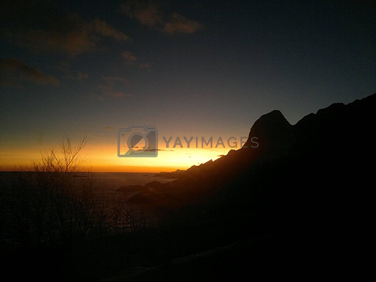 Royalty free image of Beautiful Sunset by Kesia87