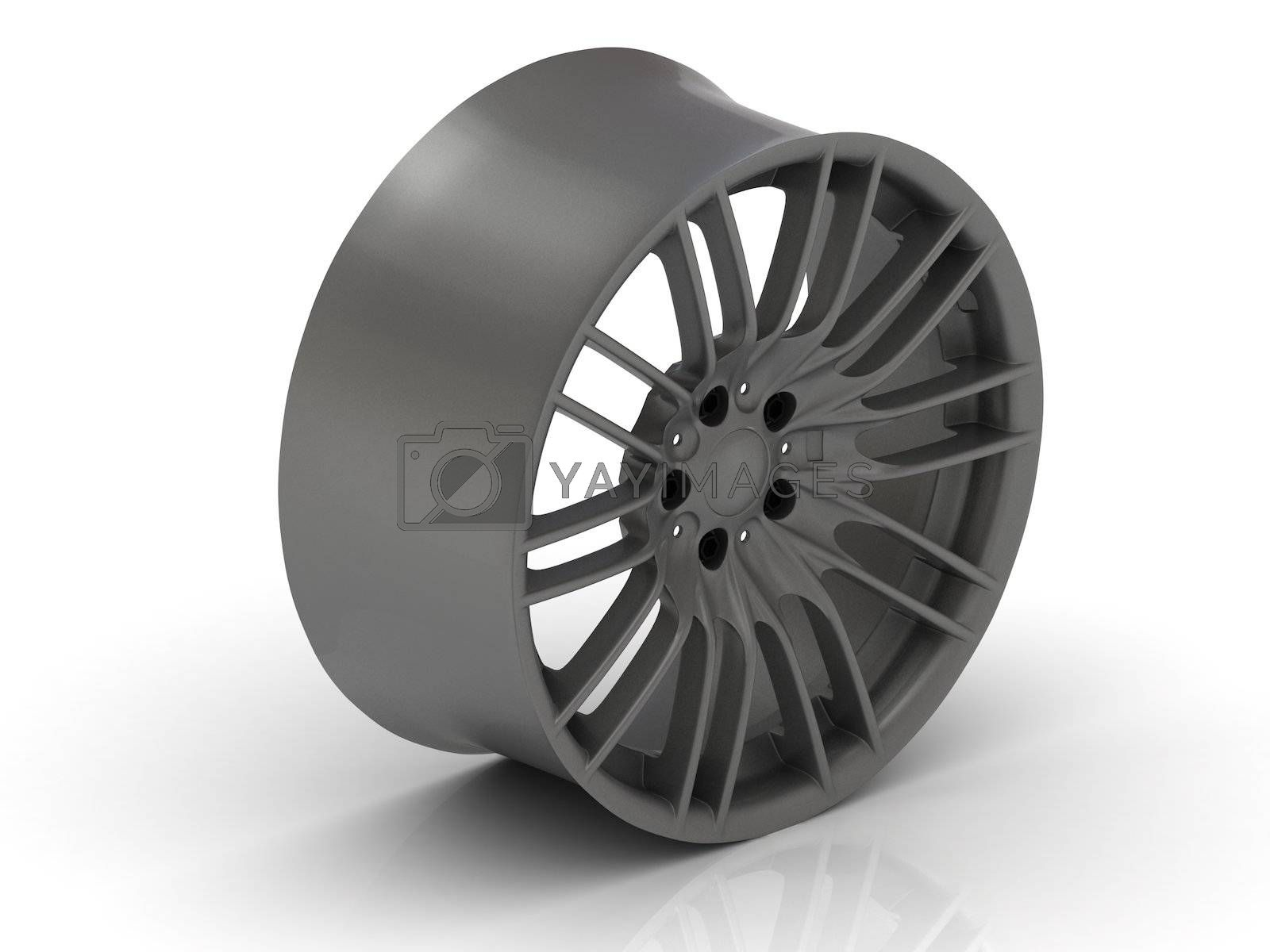 Royalty free image of Metallic rims by GreenMost
