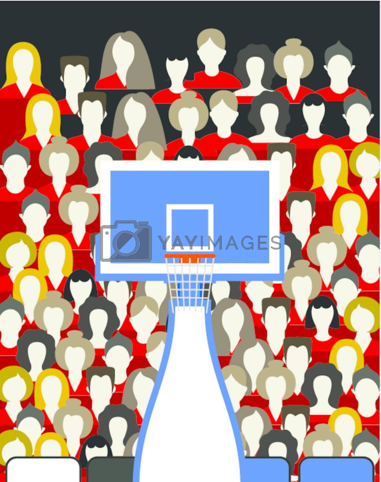 Royalty free image of Basketball by aleksander1