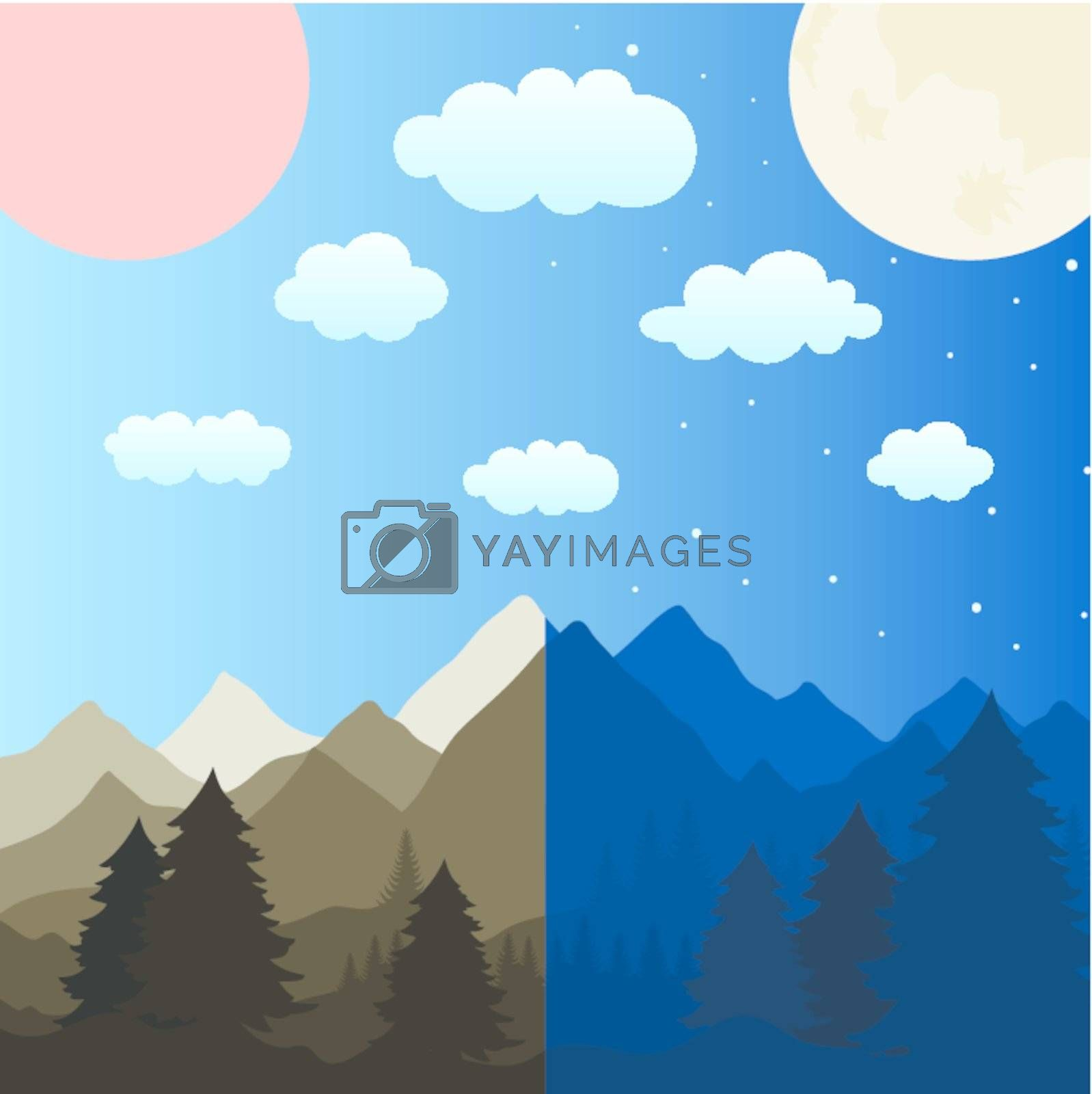 Royalty free image of Mountains by aleksander1