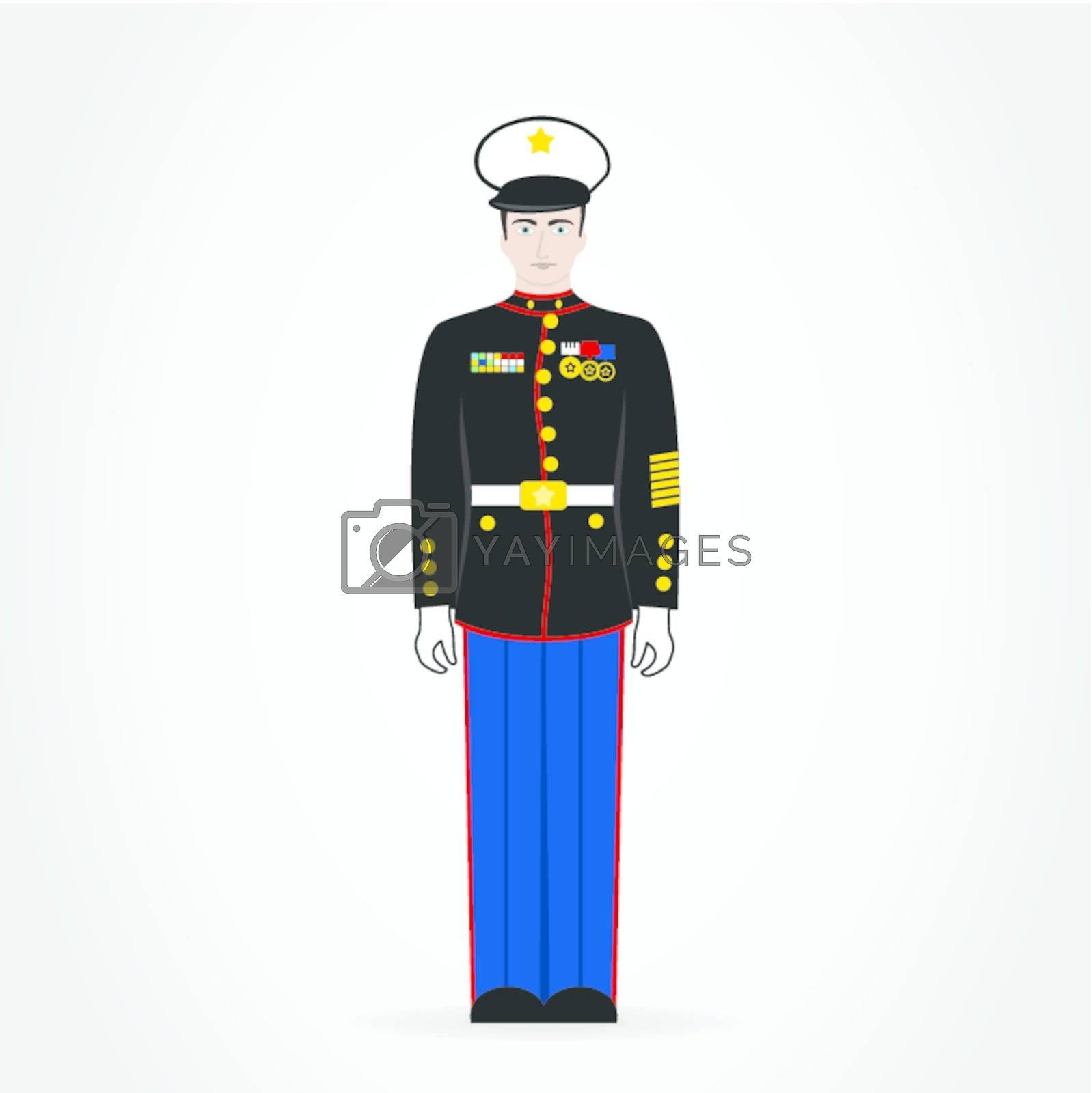 Royalty free image of Soldier by aleksander1
