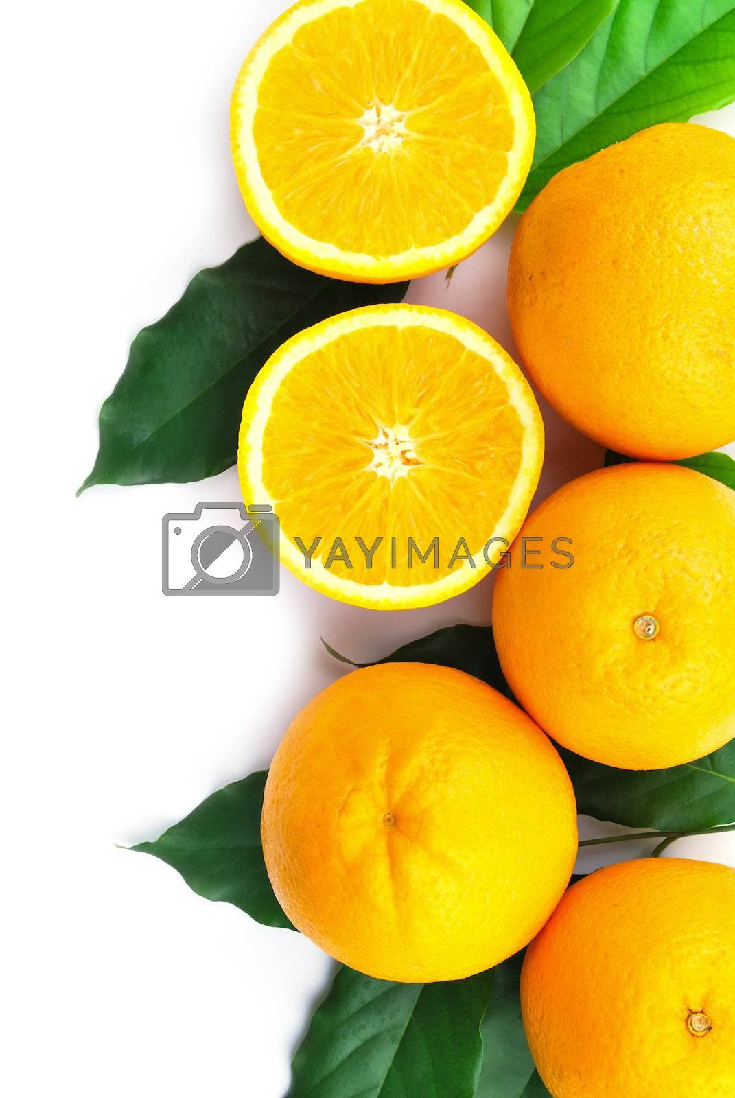 Royalty free image of Orange fruit by teen00000