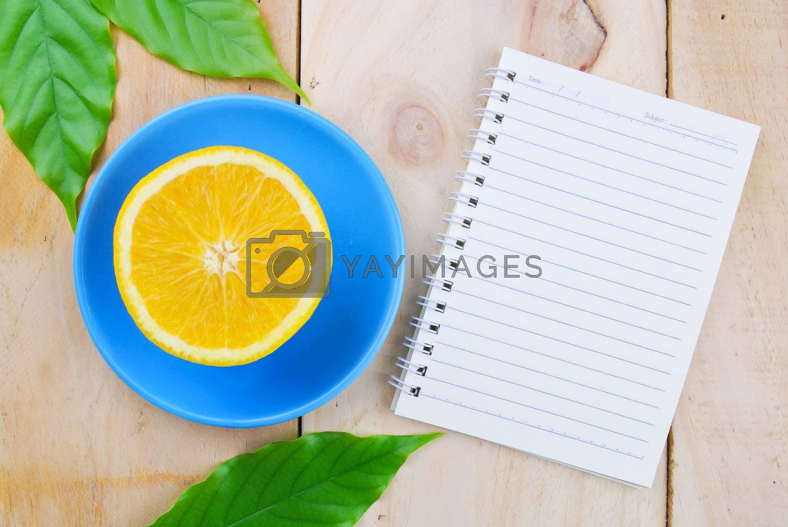 Royalty free image of Recipe book by teen00000