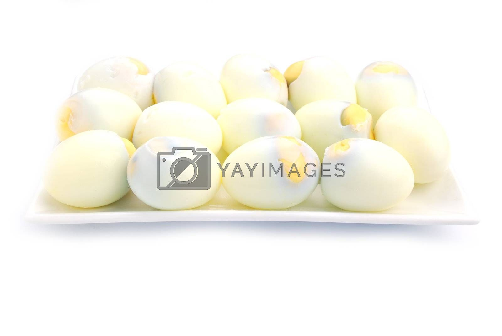 Royalty free image of Boiled eggs by teen00000
