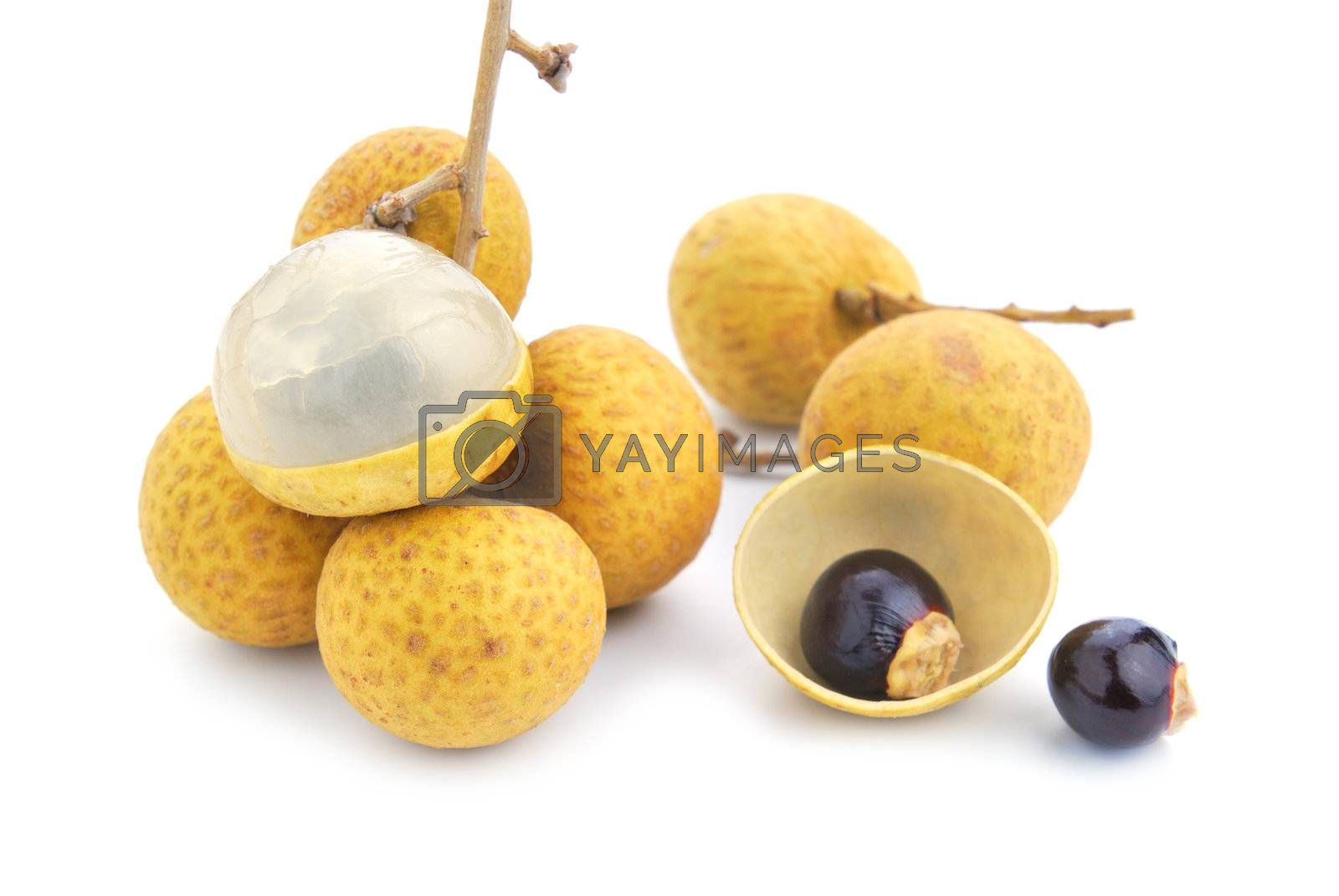 Royalty free image of Fresh longan by teen00000