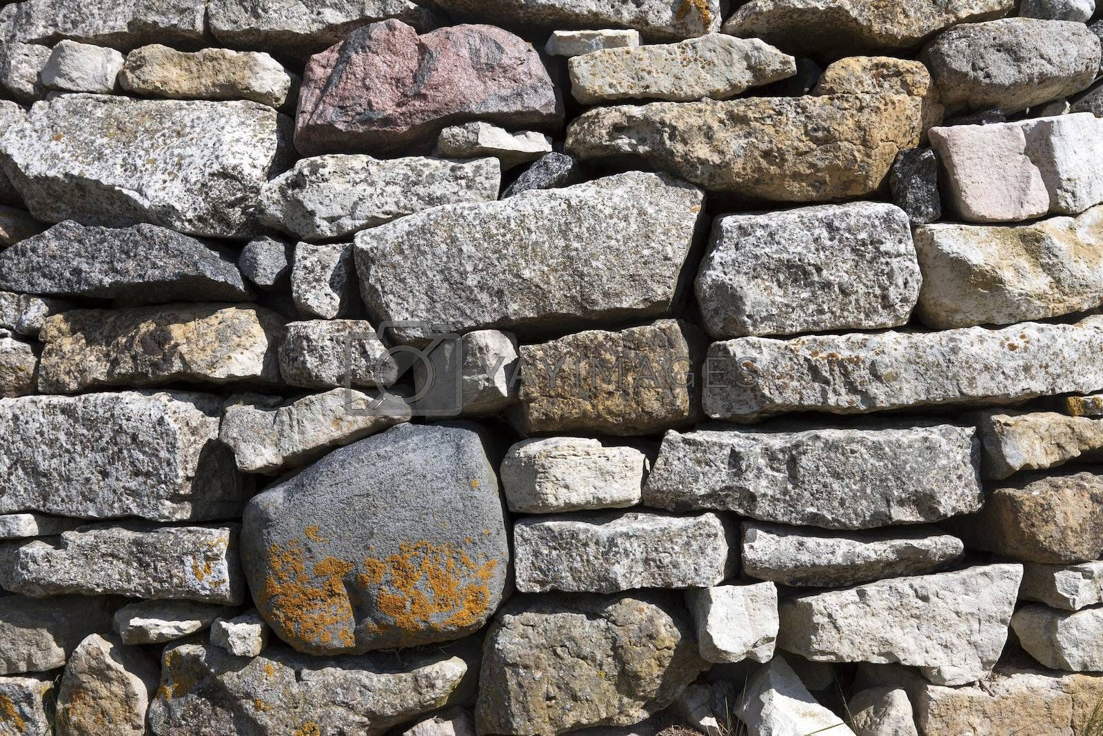 Royalty free image of Natural stone background by Cebas