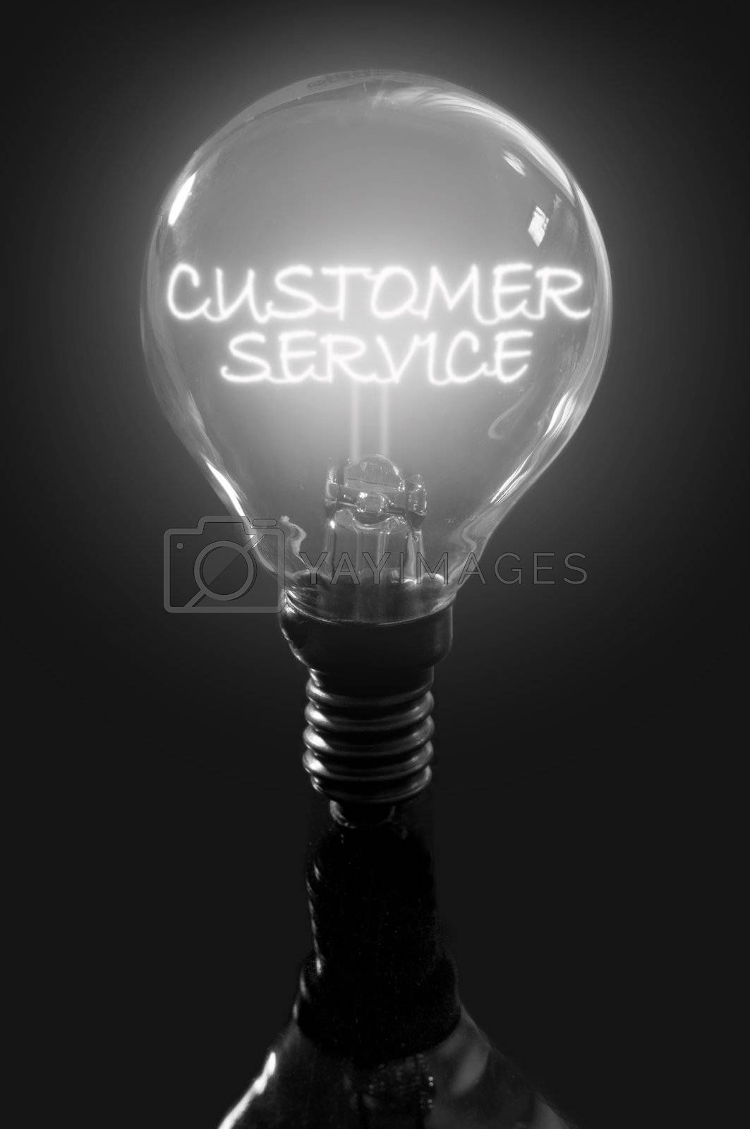 Royalty free image of Customer service by unikpix