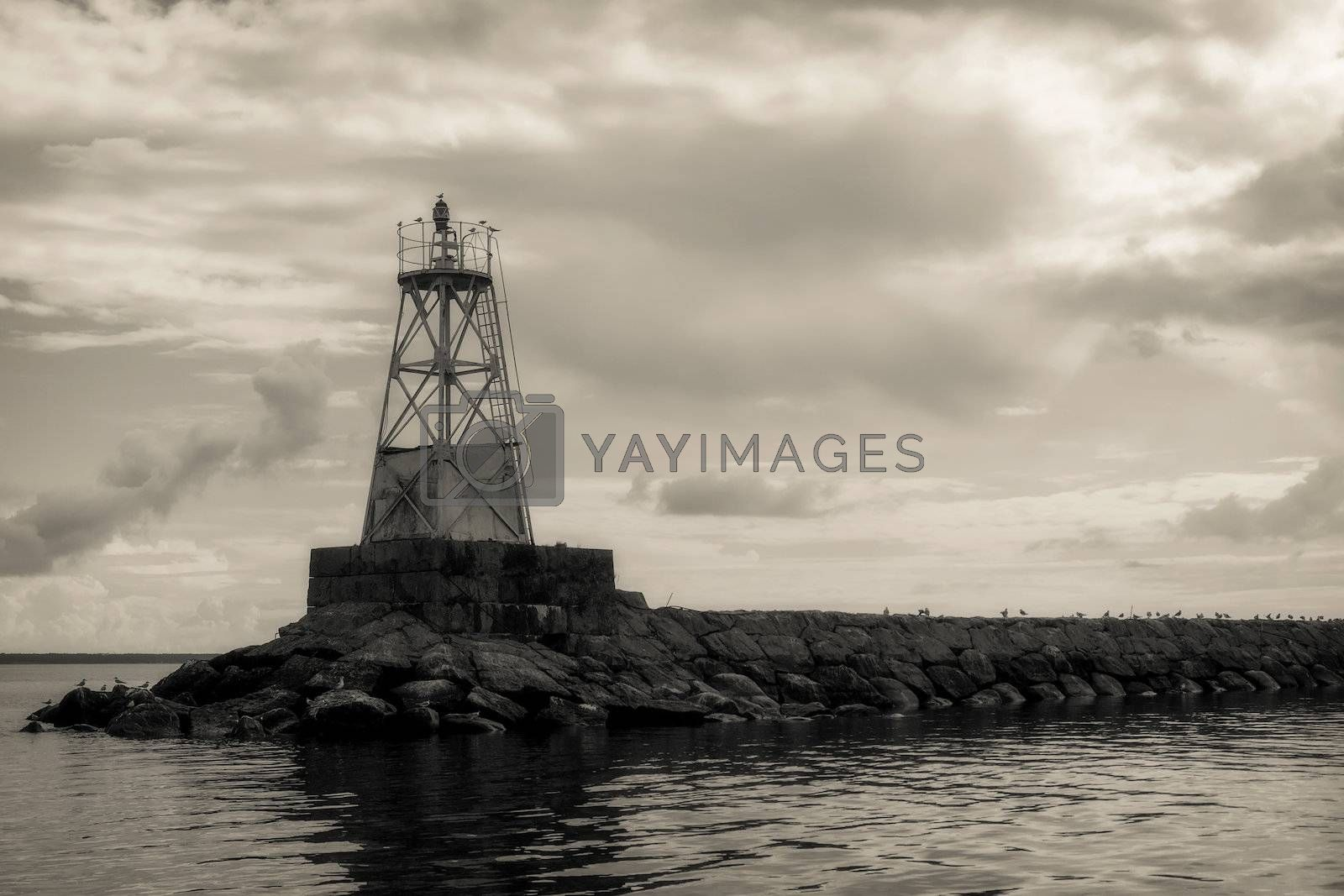 Royalty free image of Old lighthouse by Edoma