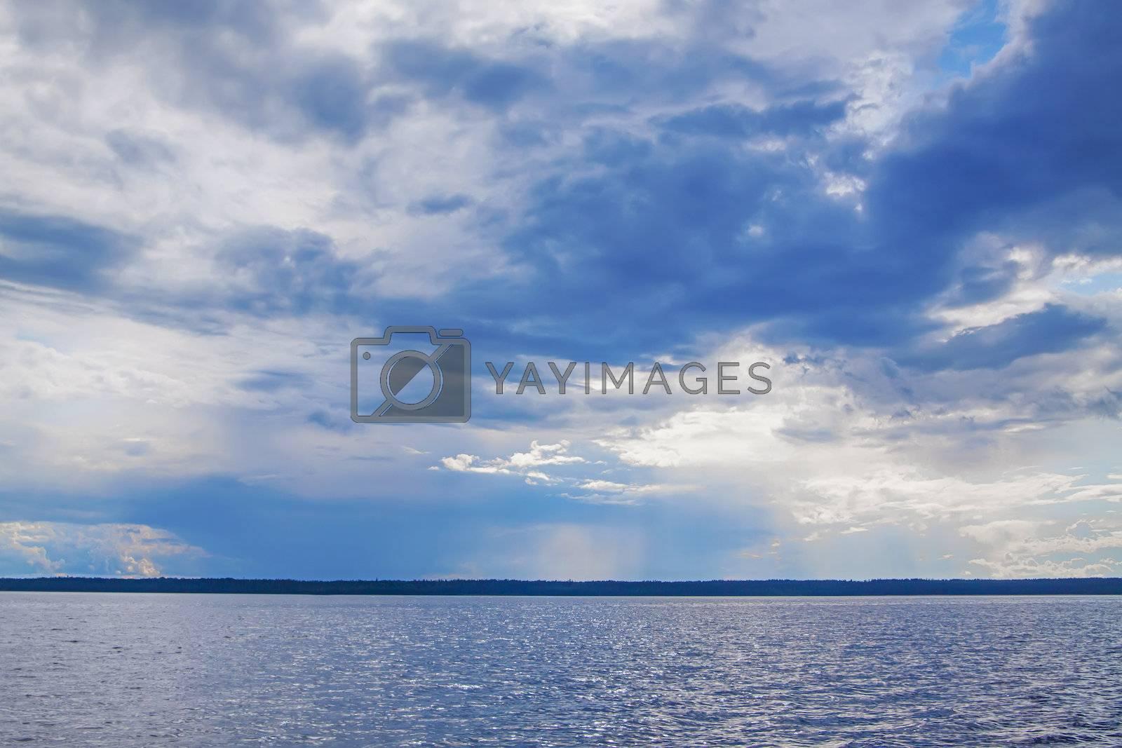 Royalty free image of Ladoga lake by Edoma