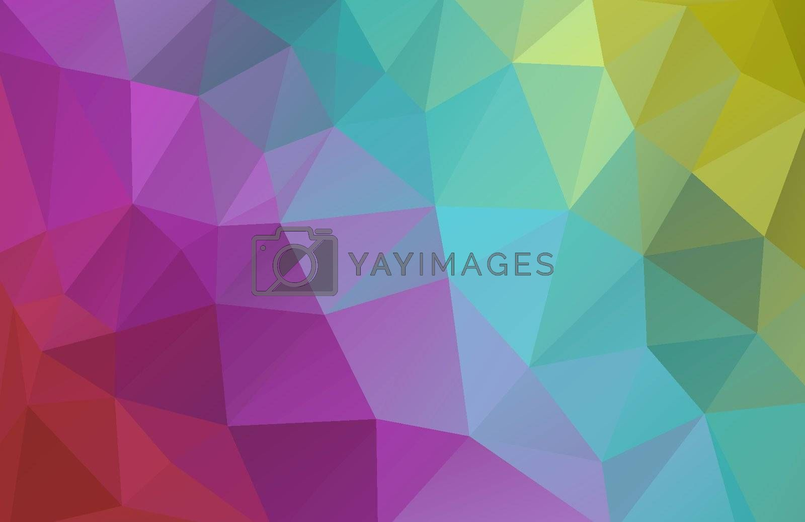 Royalty free image of Vector abstract polygonal background by Olka