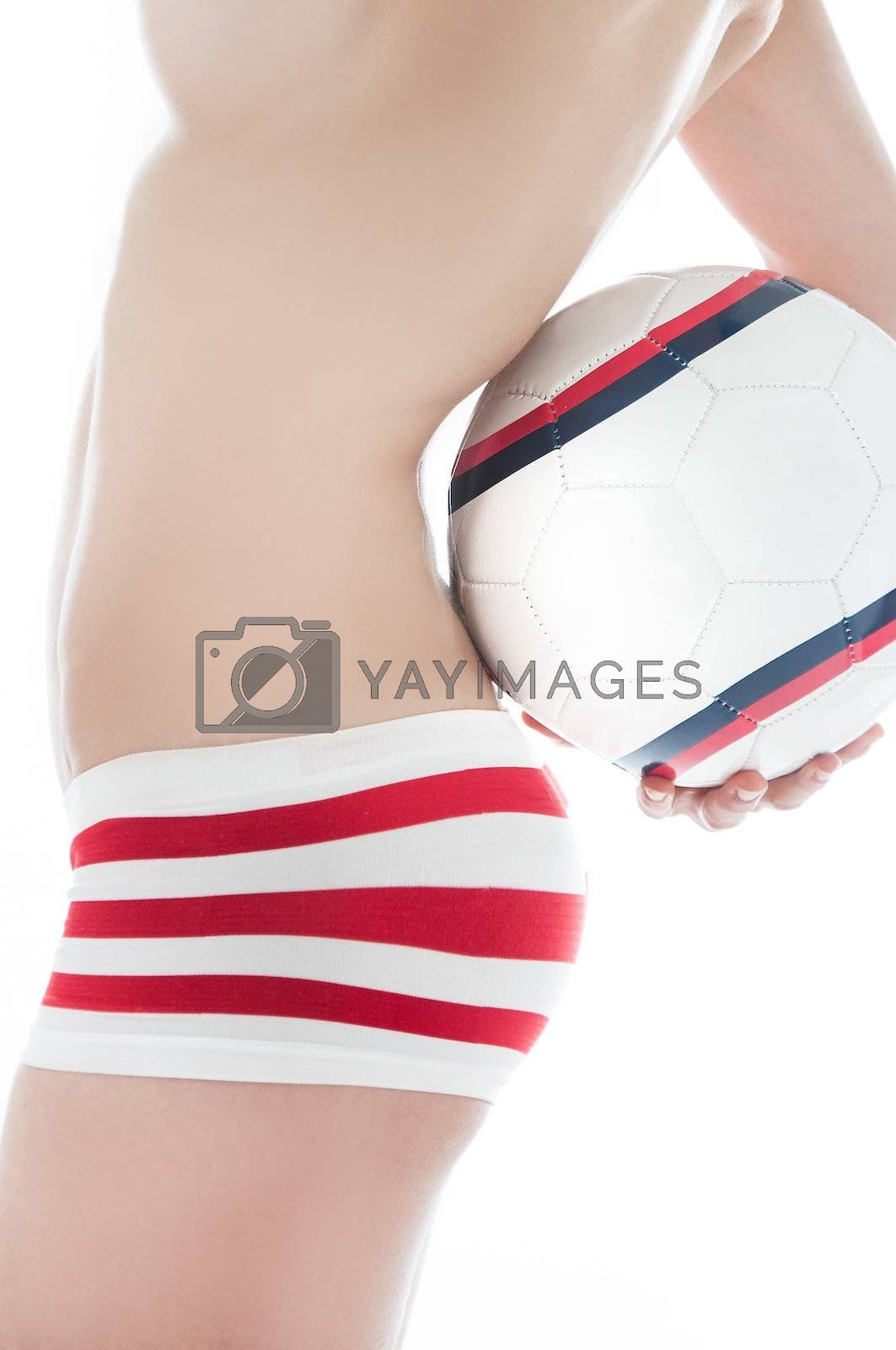 Royalty free image of USA Team Sports by CHR1