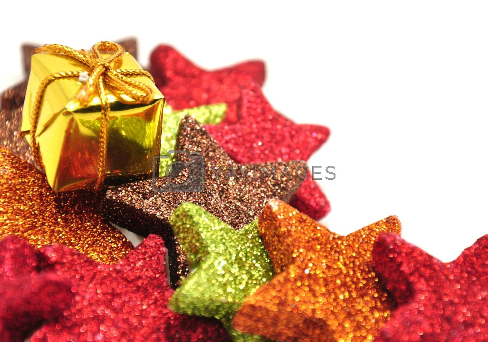 Royalty free image of Colorful Christmas ornaments by ondrej83