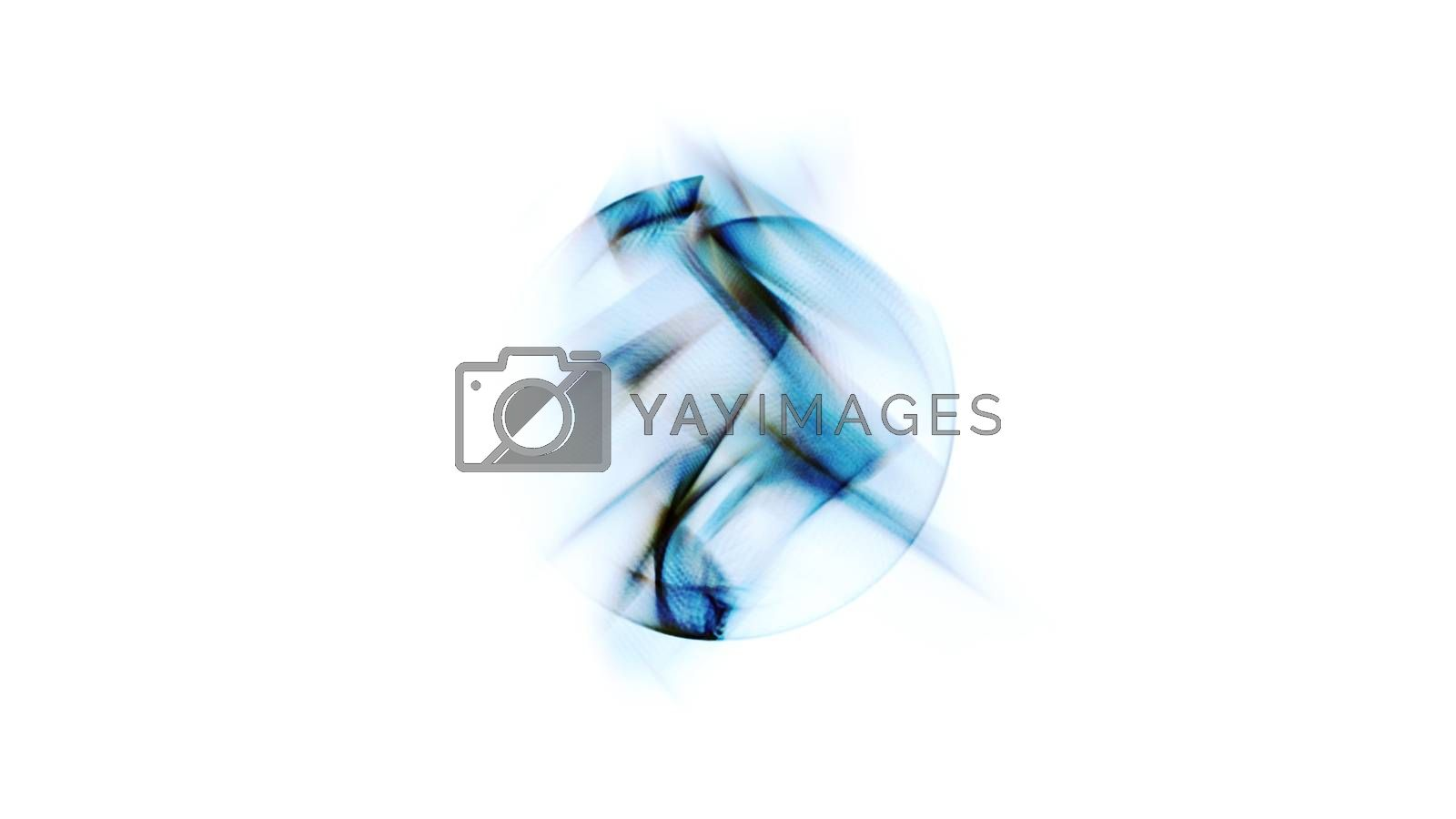 Royalty free image of Radial Abstraction 0418 by aLunaBlue