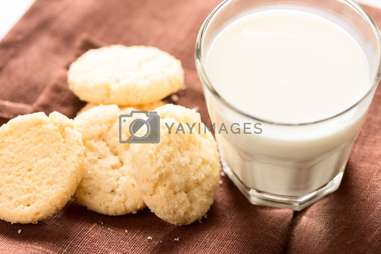 Royalty free image of Cookies and milk by Nanisimova