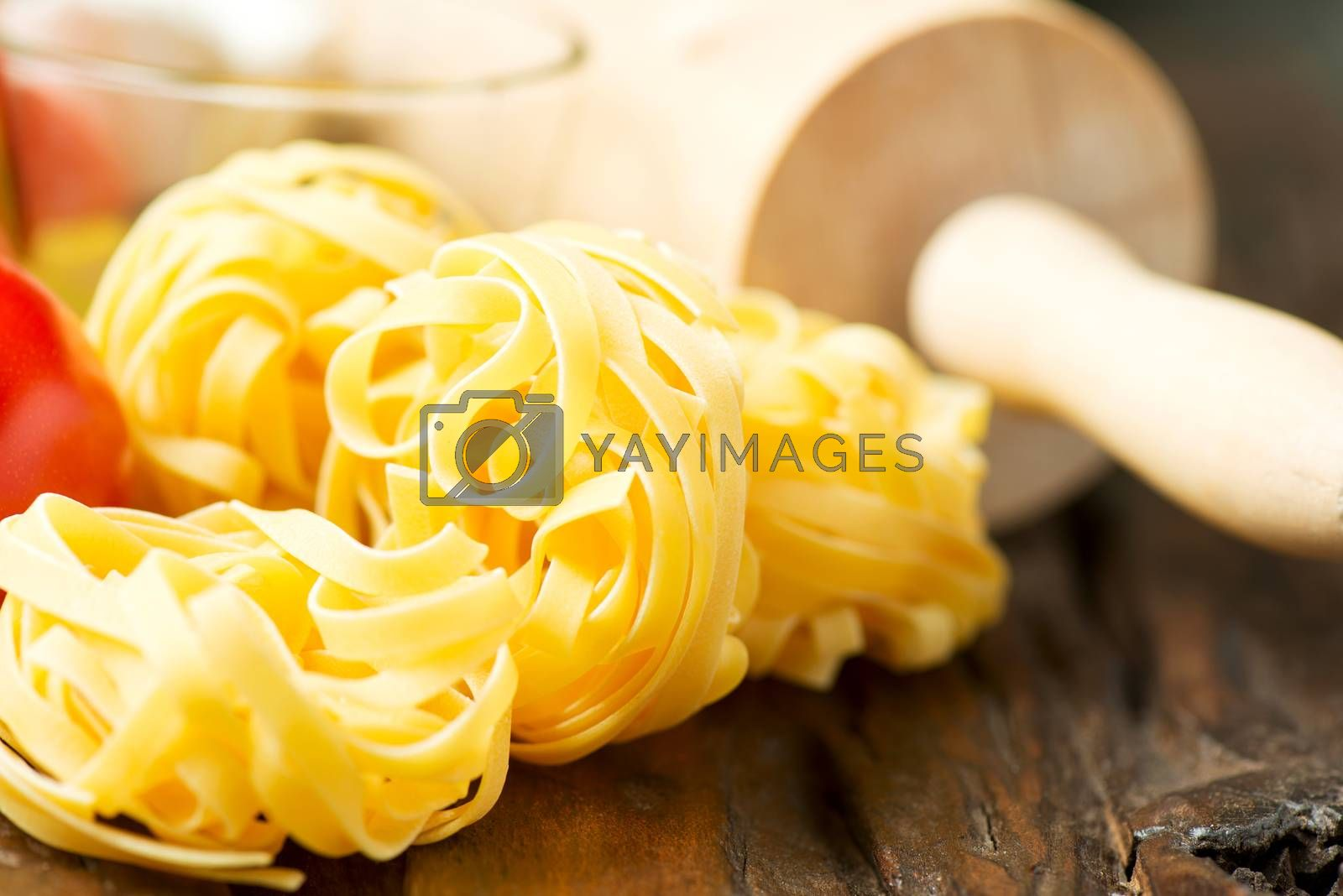Royalty free image of Ingredients for cooking by Nanisimova