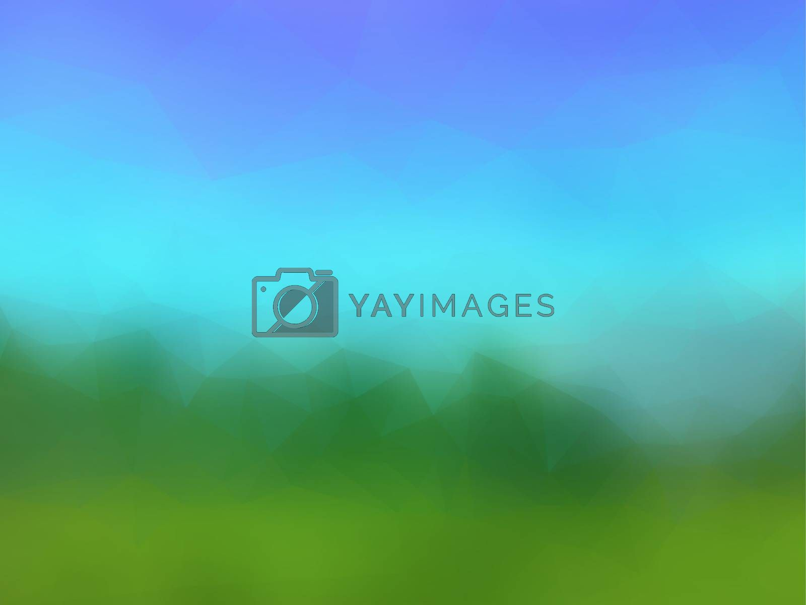 Royalty free image of beautiful vector stylized landscape by Galagraph