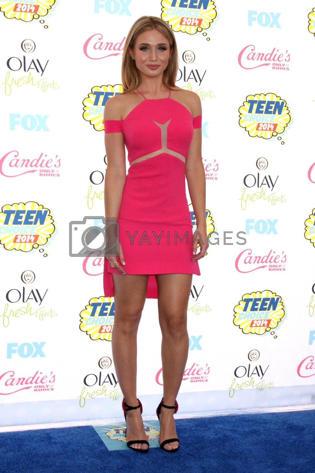 Royalty free image of Rita Volk at the 2014 Teen Choice Awards Arrivals, Shrine Auditorium, Los Angeles, CA 08-10-14/ImageCollect by ImageCollect