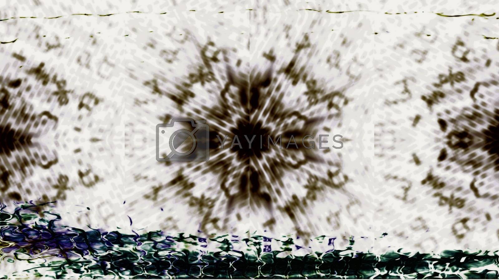 Future Tech 0428 - Futuristic technology screen communication with abstract digital effects.