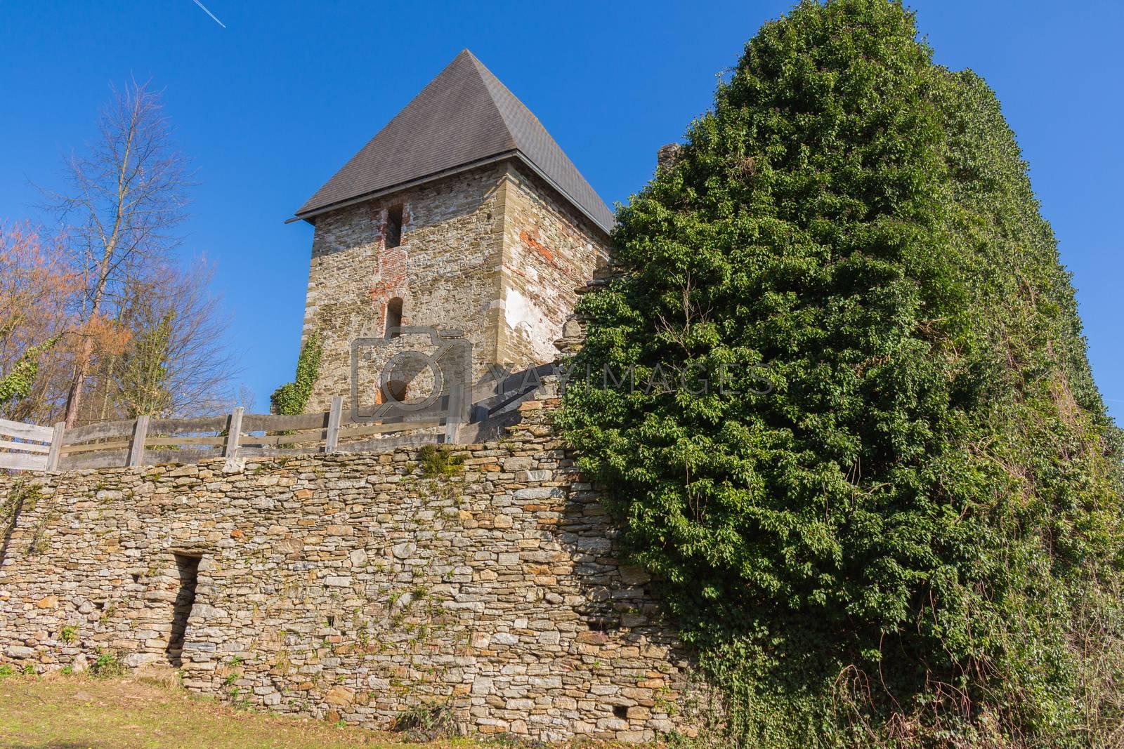 Medieval castle in Styria,Austria
