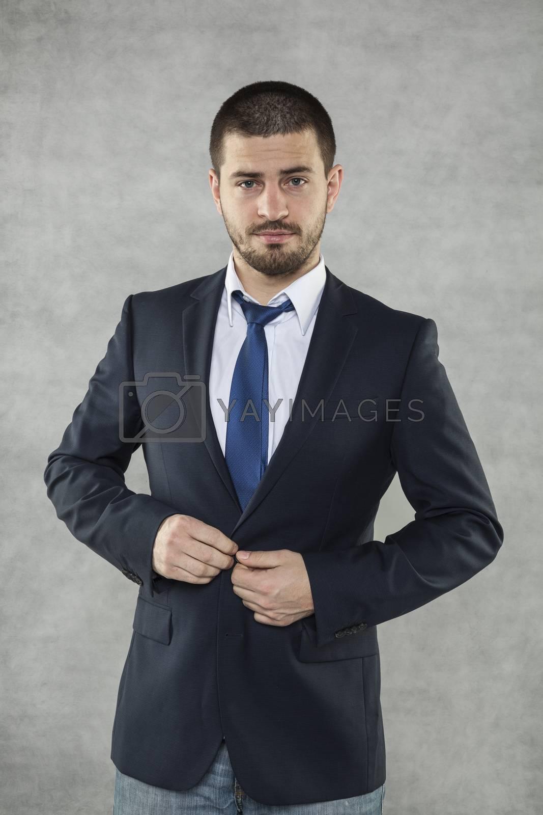Handsom businessman