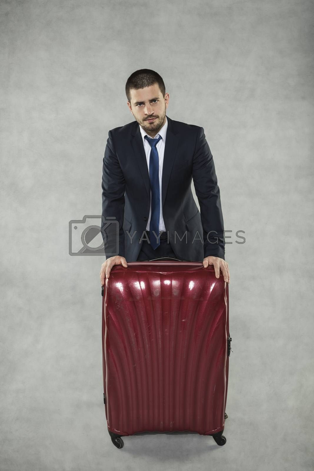 Suitcase already packed