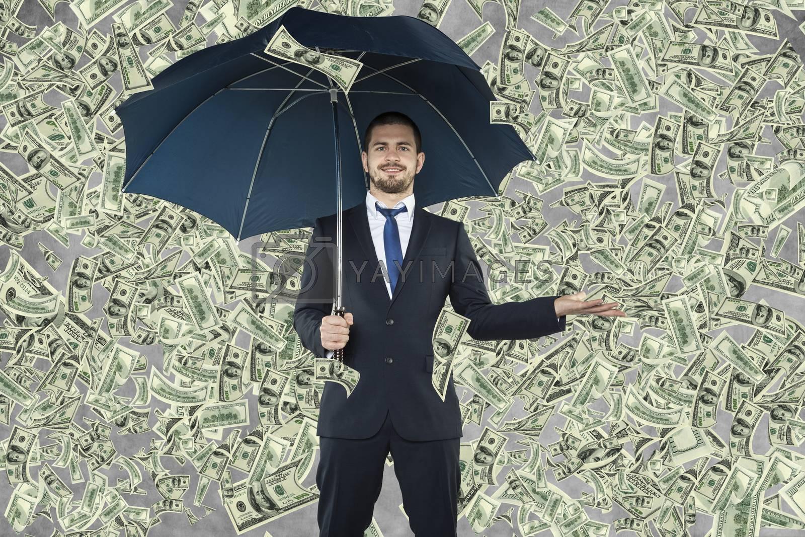 Businessman is a billionaire