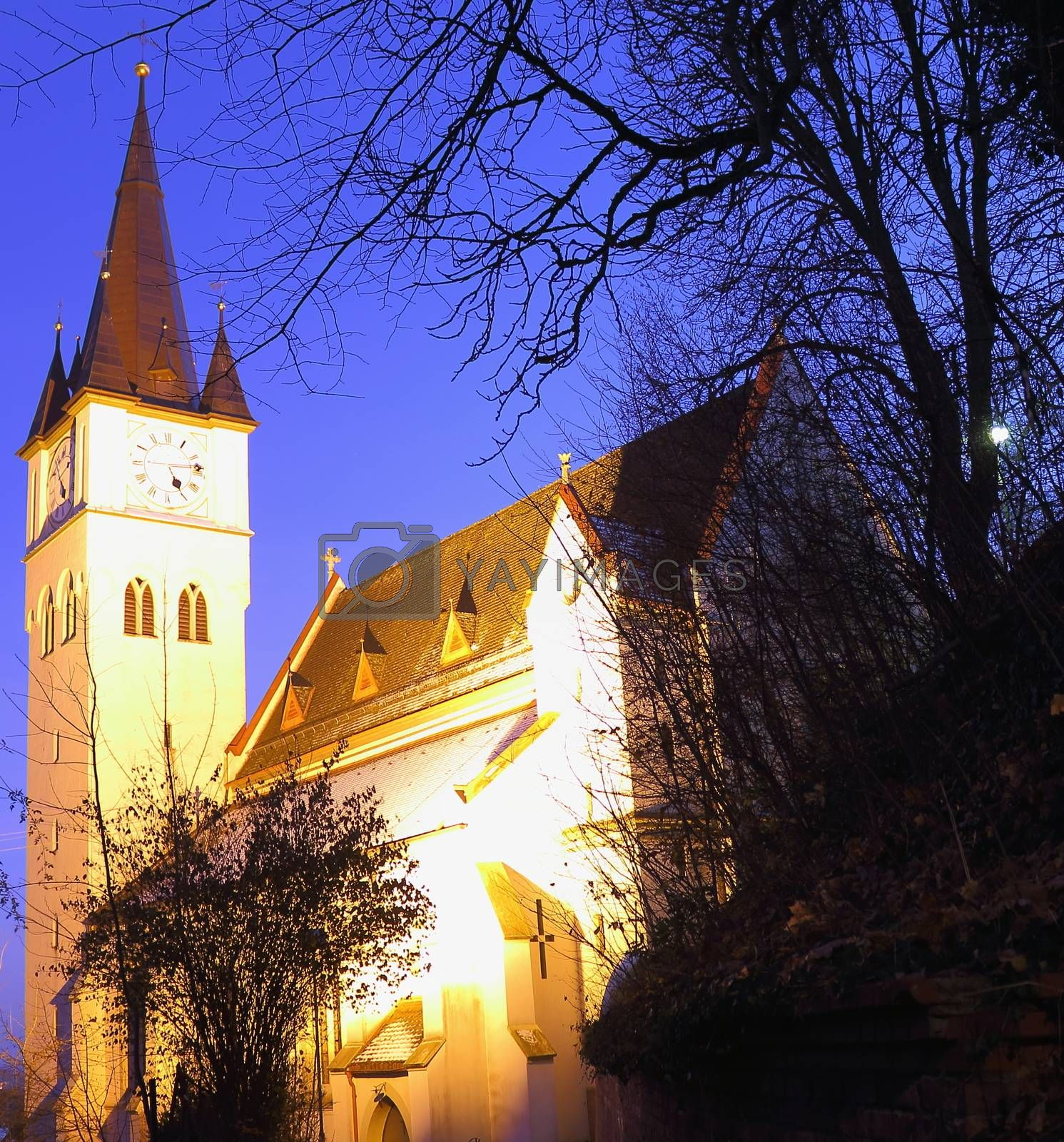 Church Erolzheim in Schwaben country
