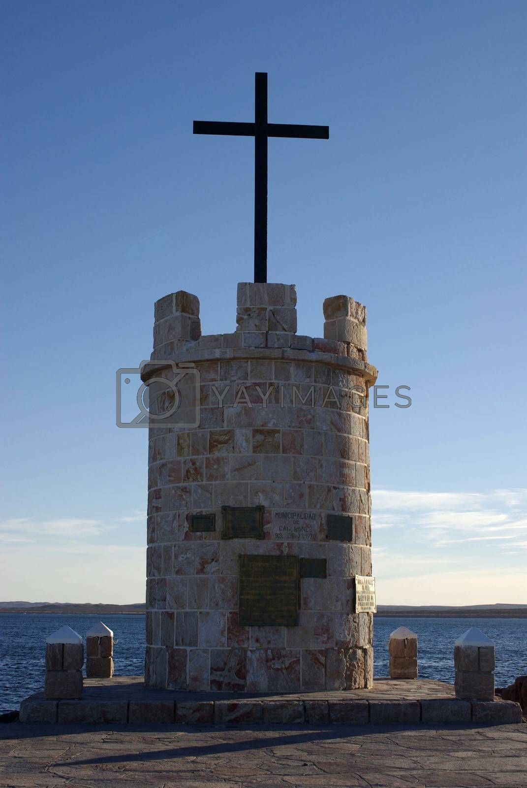 Royalty free image of Monument in Patagonia by pascalou95