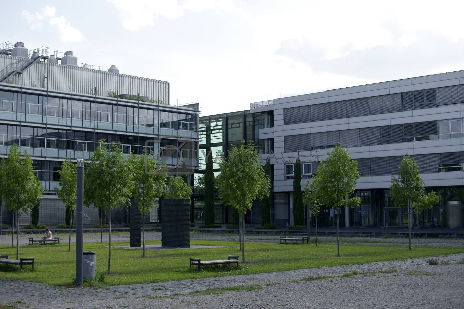 Royalty free image of Chemistry Building University of Mainz by ginton
