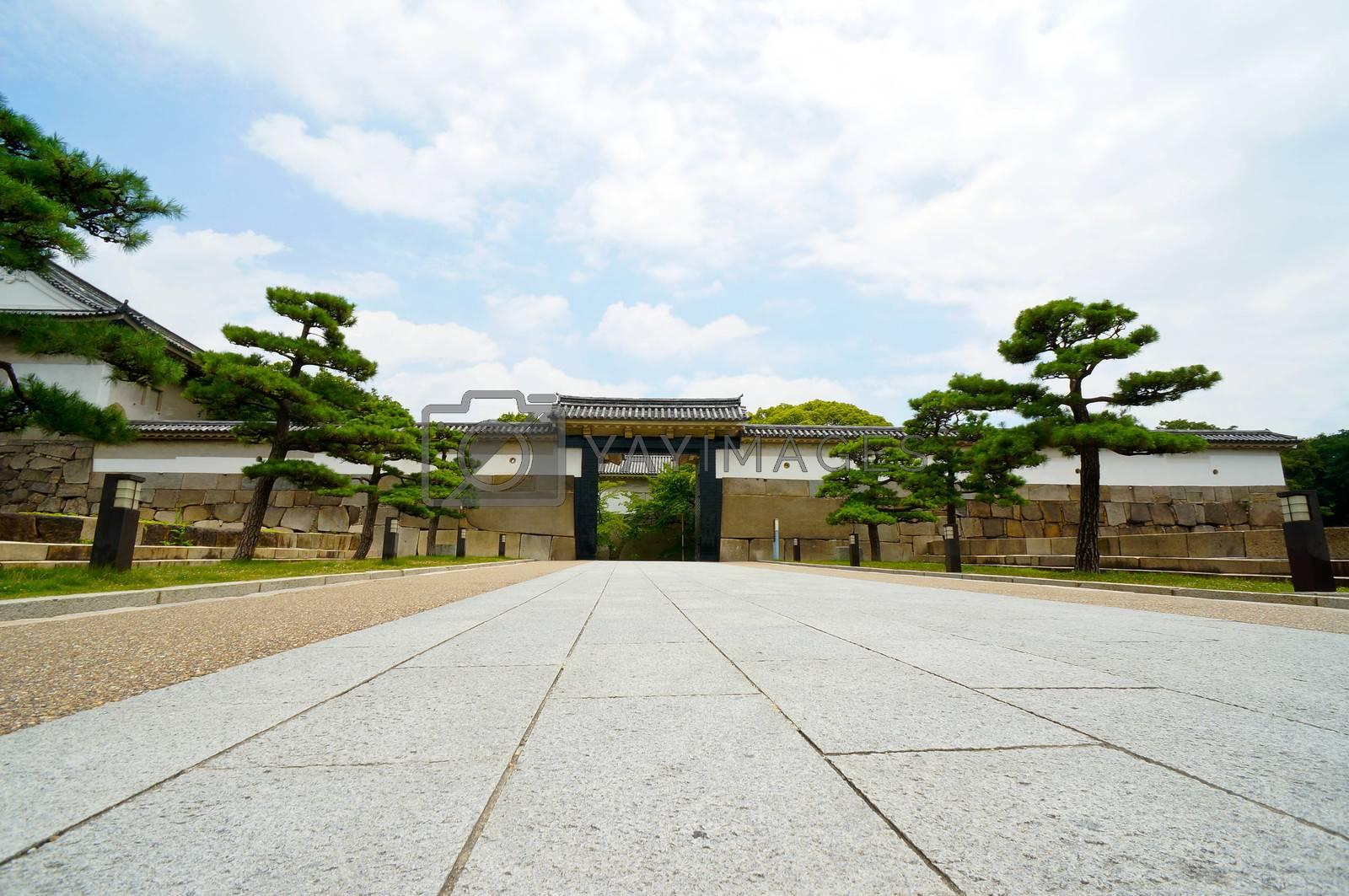Royalty free image of Osaka by jones137hk