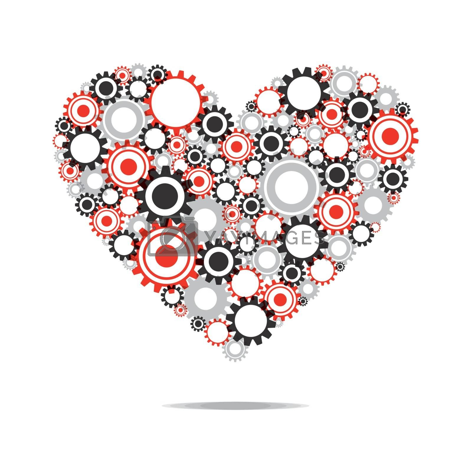 Royalty free image of Abstract Heart by nicousnake