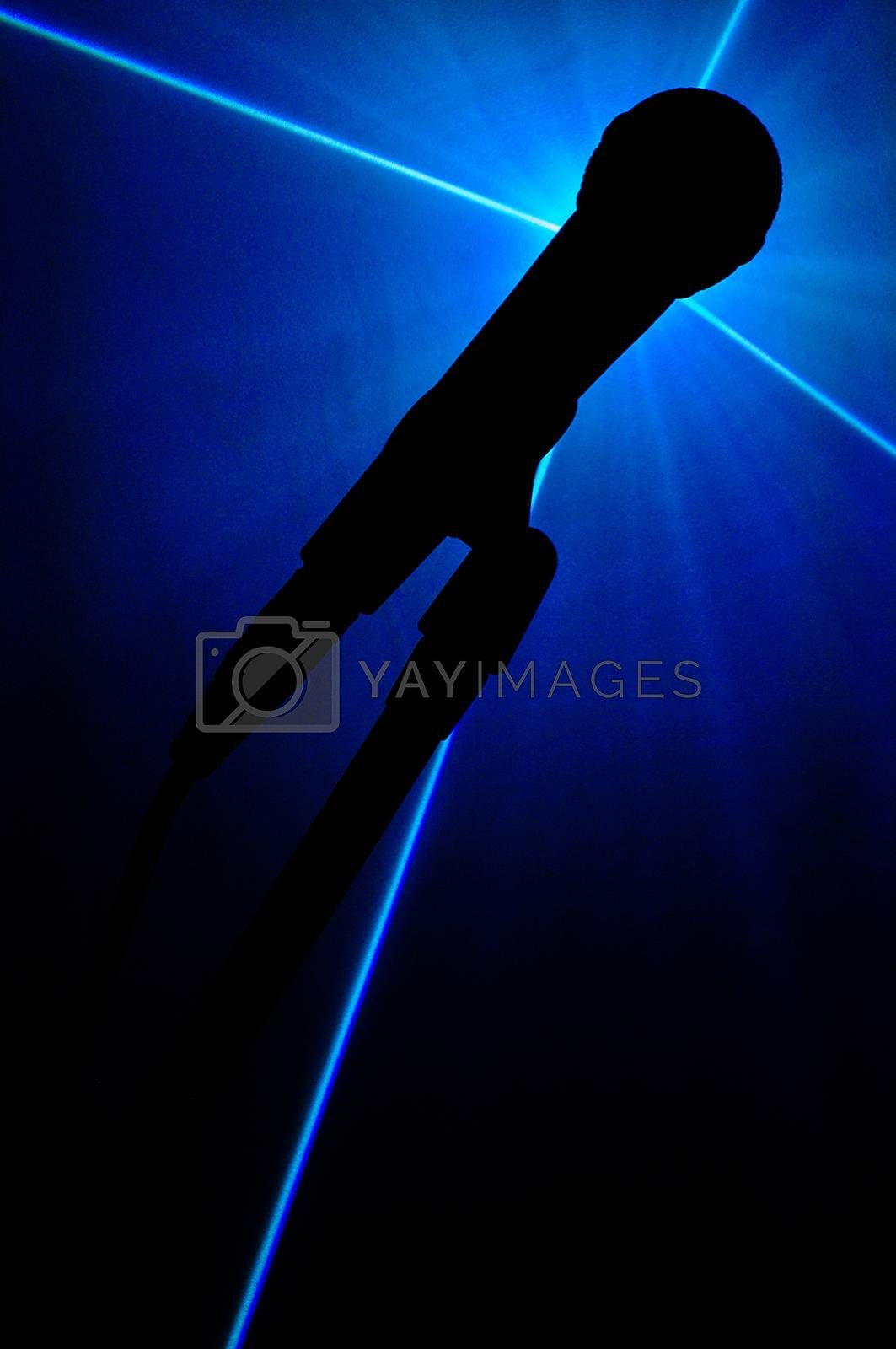 Royalty free image of Microphone by Symbolic