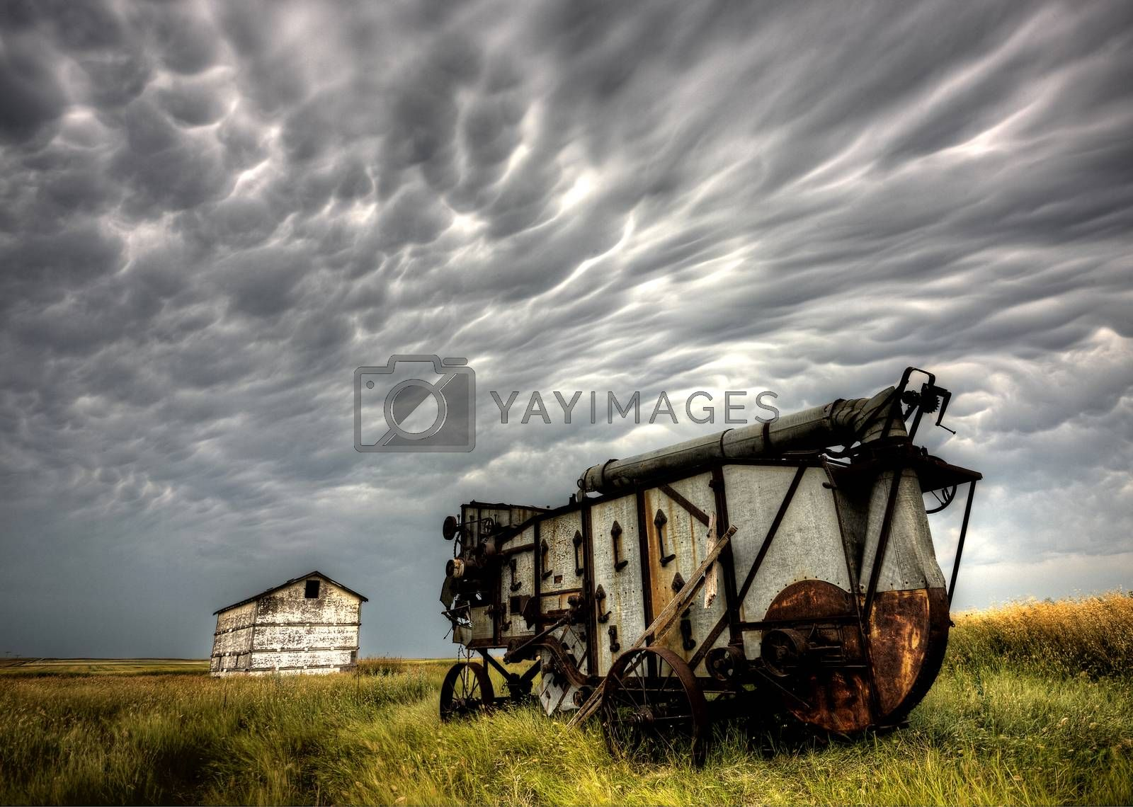 Royalty free image of Storm Clouds Saskatchewan by pictureguy