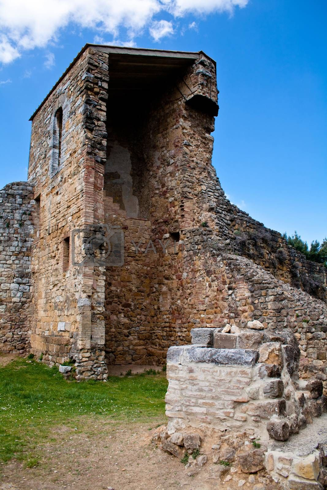 Royalty free image of Medieval ruins by foaloce