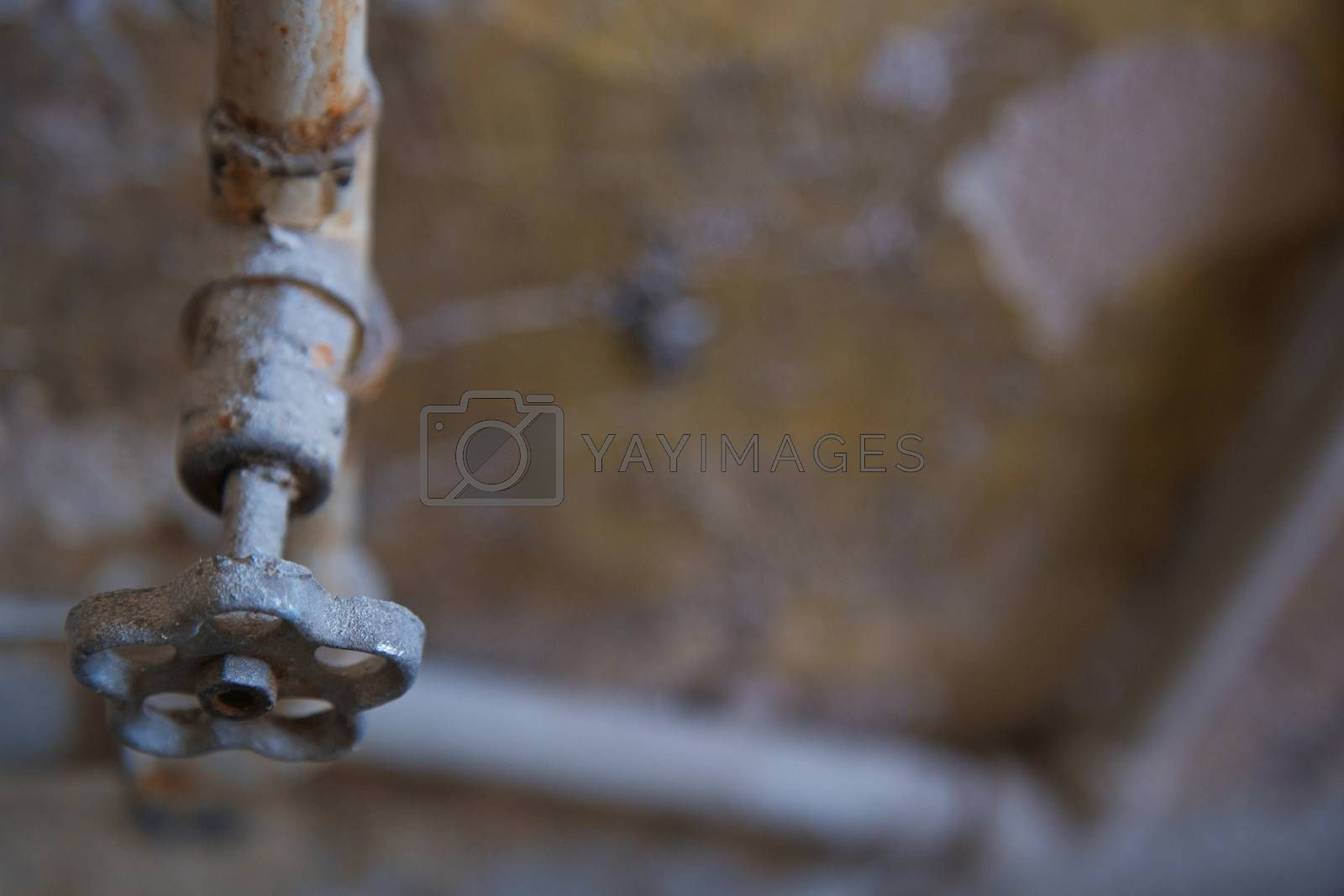 Royalty free image of Old rusty tap by Novic