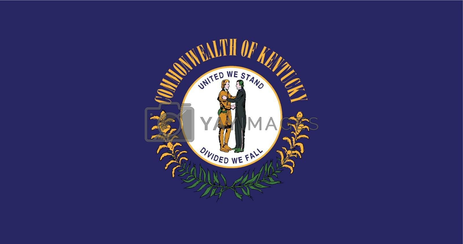 Royalty free image of Seal of Kentucky by Bigalbaloo