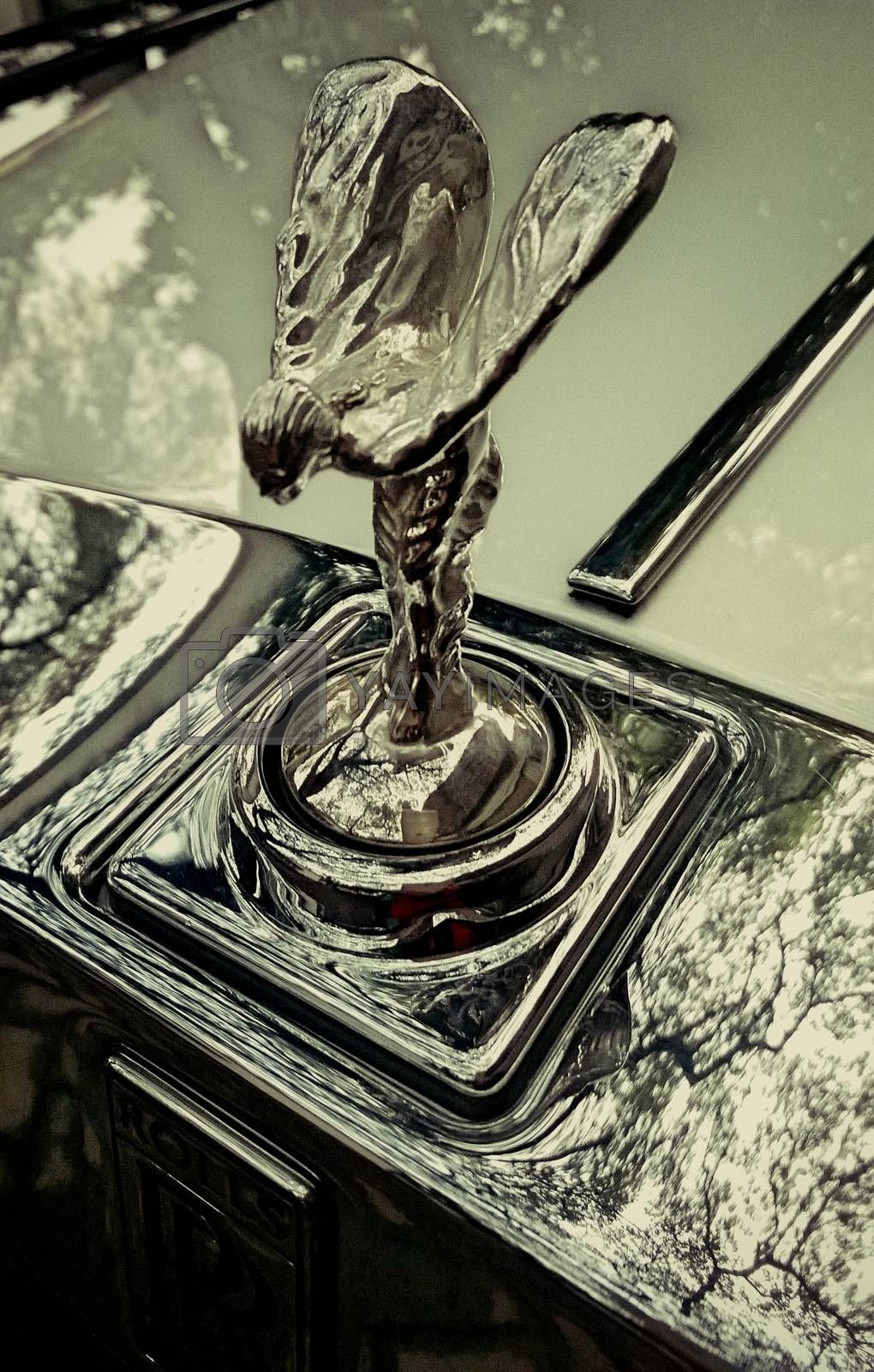 Royalty free image of Roll Royce by thefinalmiracle